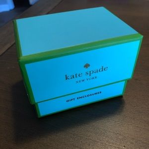 kate spade Office - Kate Spade Mini Note Cards Gift Enclosure 24 NEW